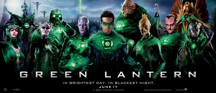 Green Lantern Film - Ryan Reynolds The film is due in the theaters on June 17th release and see what director Martin Campbell has in store for us. The film stars Ryan Reynolds, Blake Lively, Peter Sarsgaard and Mark Strong.