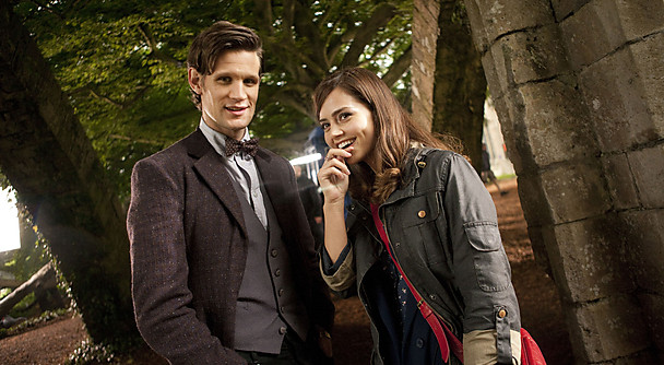 Matt Smith and Jenna-Louise Coleman Doctor Who new companion