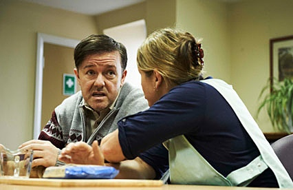 Ricky Gervais - Derek - the office - idiot abroad