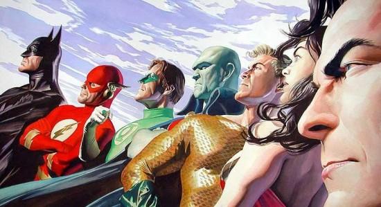JLA - Justice League - Batman - Superman - Wonder Woman - Ross