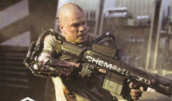elysium-Matt Damon
