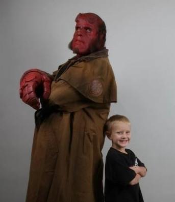 hellboys Hellboy Ron Perlman Make a Wish