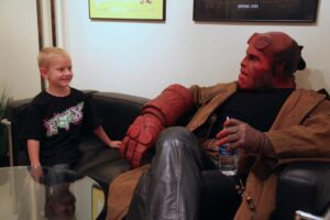 hellboys- hellboy ron perlman make a wish