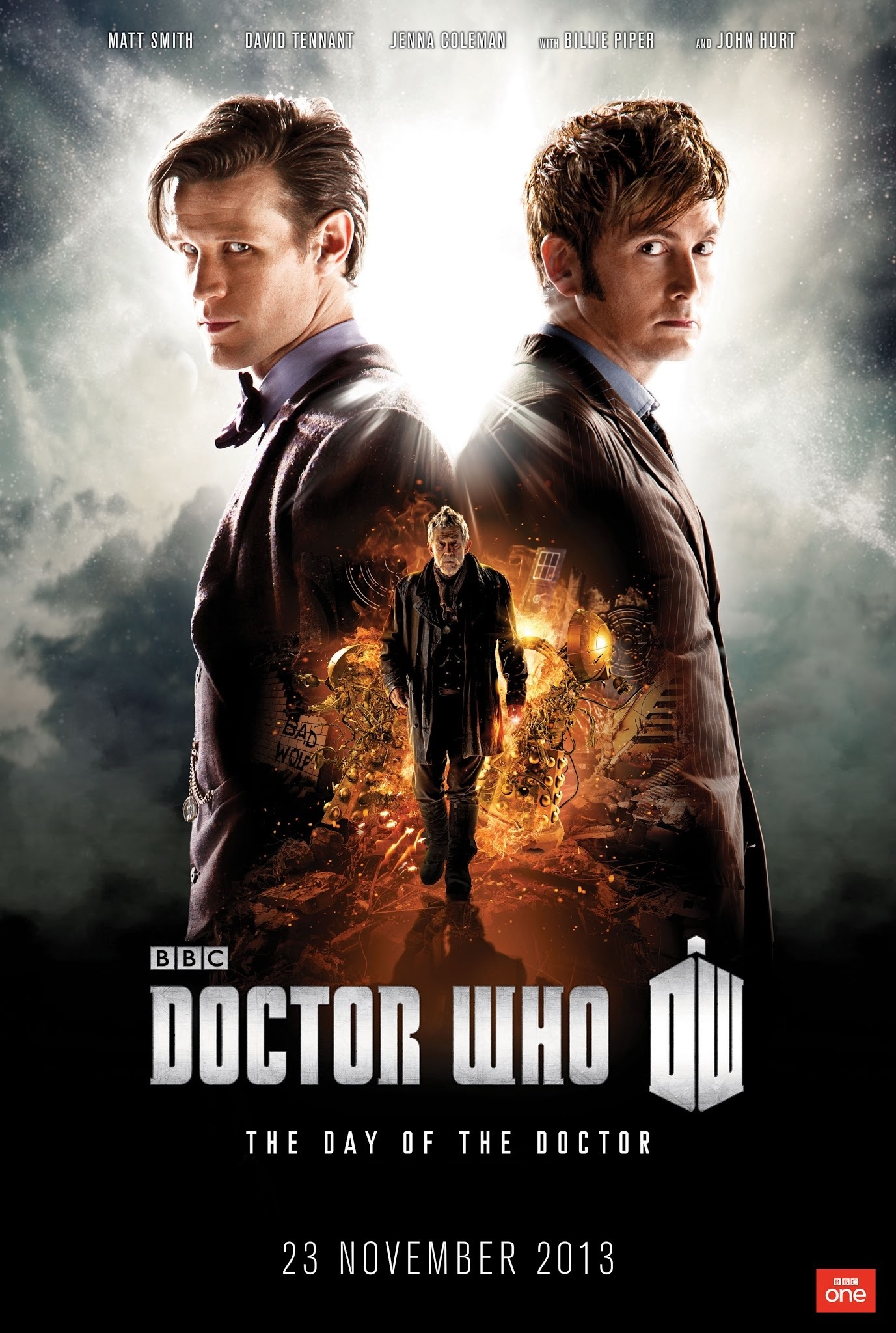 Doctor Who News: Theatrical 3D Screenings Of The Day of The Doctor Announced For The US
