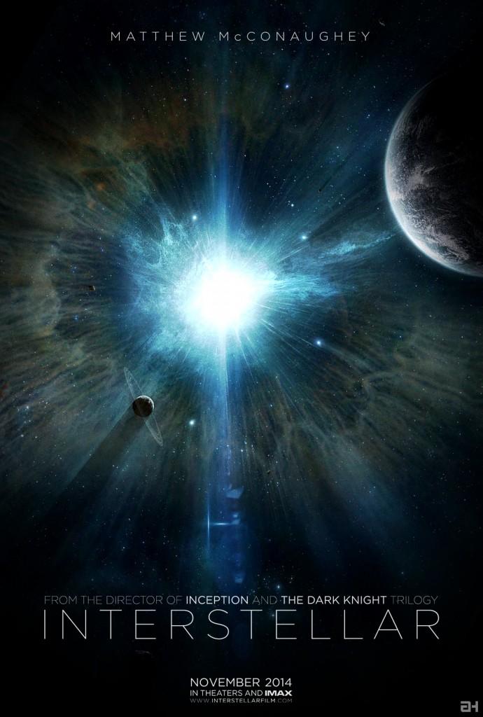 interstellar-poster christopher nolan