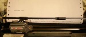Remember Dot Matrix Printers? Not like this you don't…