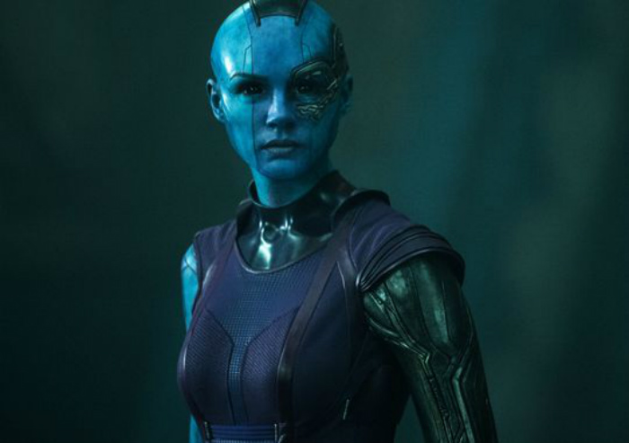karen gillan nebula guardians of galaxy marvel movie