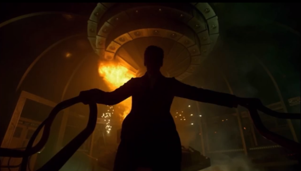 doctor who series 8 peter capaldi jenna coleman