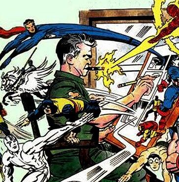 jack kirby marvel comics avengers hulk fantastic four