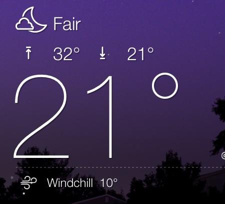 damn cold