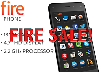 Get An Amazon Fire Phone For Only 99 Cents!