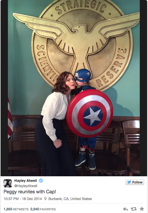 hayley atwell agent carter marvel captain america