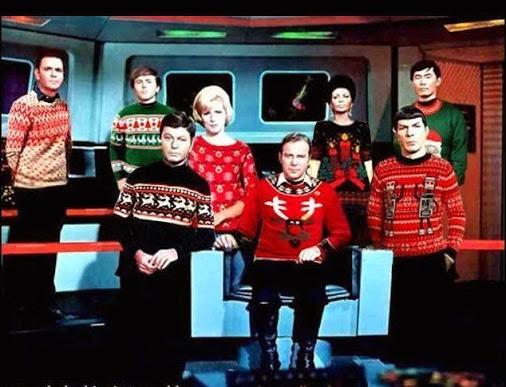 star trek christmas sweaters