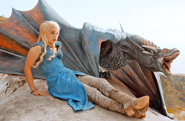 emilia clarke dragons game of thrones