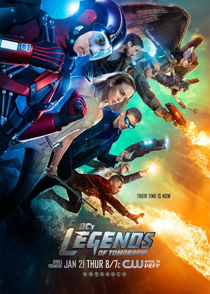 legends of tomorrow DC Arrow The Flash