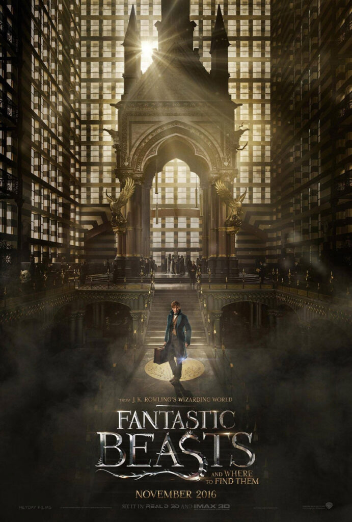 fanstastic beasts and where to find them harry potter jk rowling new movie trailer
