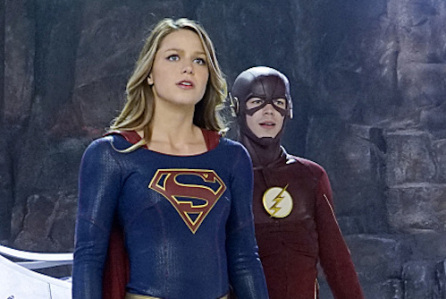 super girl the flash cbs cw dc