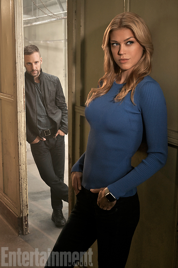 Bobbi Morse (a.k.a. Mockingbird) and Lance Hunter marvels most wanted