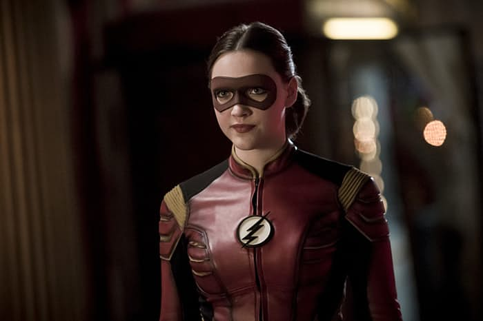 jessie quick the flash cw speed force earth 2 Violett Beane