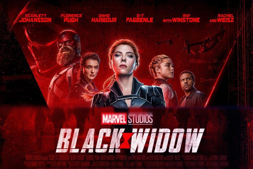 marvels black widow movie Scarlett Johansson